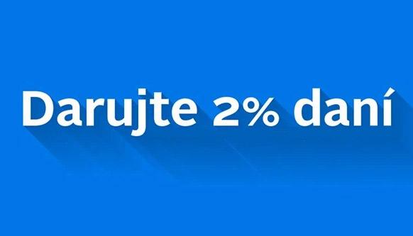 2 percenta dani pre Preventista.sk